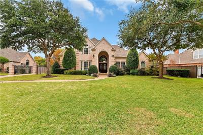 Southlake TX Single Family Home For Sale: $815,000