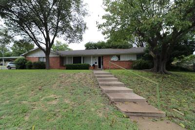 Benbrook Single Family Home Active Option Contract: 8028 Beechwood Drive