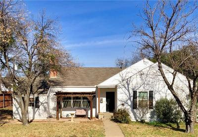 Fort Worth Single Family Home For Sale: 4016 Birchman Avenue #Ave