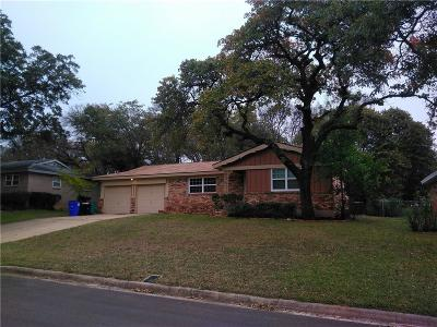 Euless Single Family Home Active Option Contract: 611 Oakwood Drive