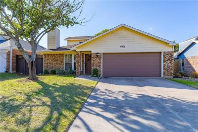 Grapevine Single Family Home Active Option Contract: 1809 Sonnet Drive
