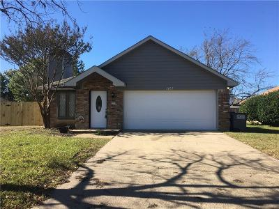 Allen Single Family Home For Sale: 1107 Mill Run Drive