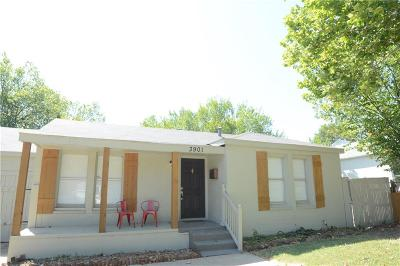 Fort Worth Single Family Home For Sale: 3901 Winfield Avenue