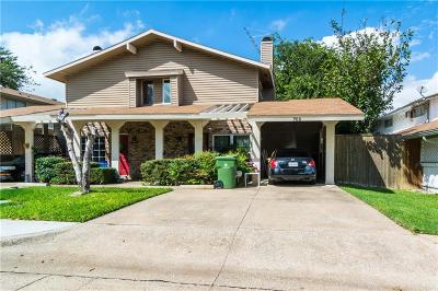 Garland Townhouse For Sale: 705 Sceptre Circle