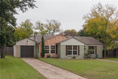 Fort Worth Single Family Home For Sale: 3566 Norfolk Road