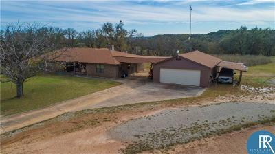 Brownwood Single Family Home For Sale: 135 Big Hill Drive