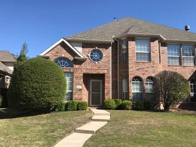 Frisco Residential Lease For Lease: 11402 Still Hollow Drive
