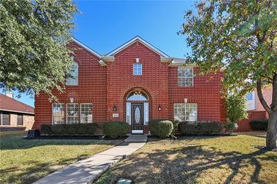 Carrollton Single Family Home Active Option Contract: 3820 Johnson Drive