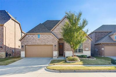 McKinney Single Family Home Active Contingent: 10329 Old Eagle River Lane