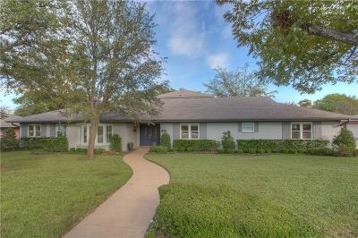 Fort Worth Single Family Home For Sale: 4155 Sarita Drive