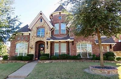 McKinney Single Family Home For Sale: 301 Bachman Creek Drive