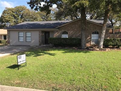 Fort Worth Single Family Home For Sale: 1513 Terbet Lane