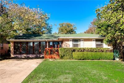 Richardson Single Family Home For Sale: 1214 Colfax Drive
