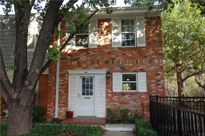 Fort Worth Condo For Sale: 1317 Roaring Springs Road
