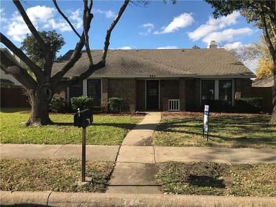 Garland Single Family Home For Sale: 229 Bellwood Drive
