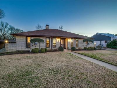 Lewisville Single Family Home Active Option Contract: 1632 Purgatory Pass