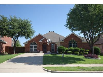 Allen Single Family Home For Sale: 1414 Kingsley Drive