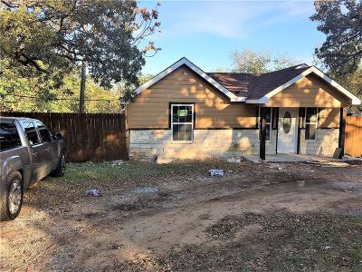 Fort Worth Single Family Home Active Option Contract: 2709 Canton Drive