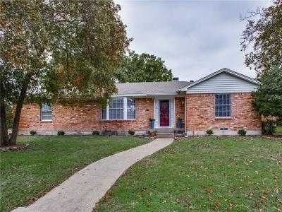 Dallas Single Family Home For Sale: 8429 Bellingham Drive