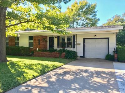 Fort Worth Single Family Home For Sale: 4936 Rector Avenue