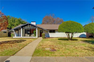 Dallas Single Family Home Active Option Contract: 3121 Citation Drive