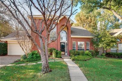 Mckinney Single Family Home Active Option Contract: 5018 Quail Creek Drive