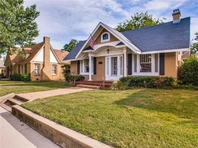 Fort Worth Single Family Home For Sale: 3737 W 7th Street