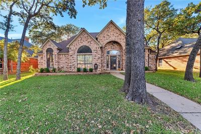 Keller TX Single Family Home For Sale: $263,000