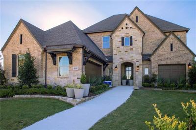 Collin County Single Family Home For Sale: 605 Splash Circle