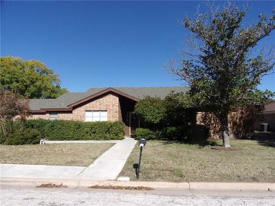 Abilene Single Family Home For Sale: 2318 Gilmer Avenue