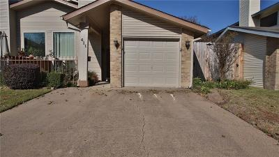 Garland Townhouse For Sale: 411 Atherton Drive