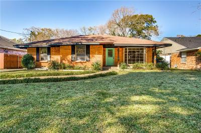 Dallas Single Family Home For Sale: 3439 Holliday Road