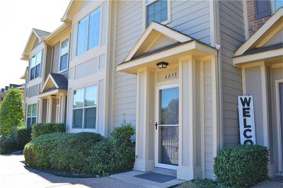 Fort Worth Townhouse For Sale: 6833 Sandshell Boulevard