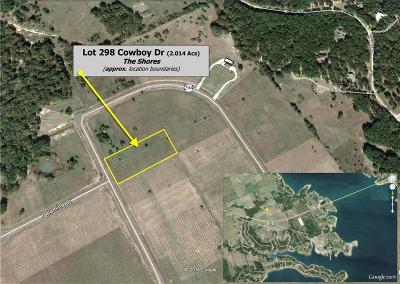 Residential Lots & Land For Sale: L 298 Cowboy Drive #BS A32