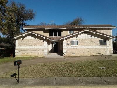 Irving Single Family Home For Sale: 3102 Coronado Street