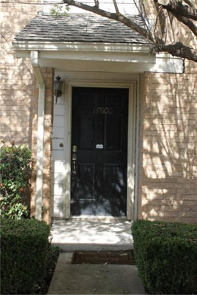 Farmers Branch Condo For Sale: 3635 Garden Brook Drive #14600