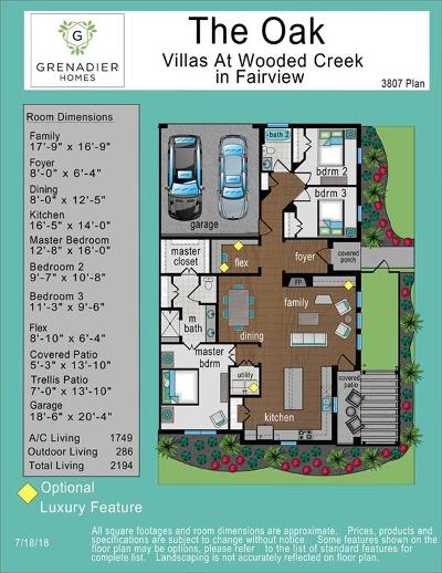 Fairview Townhouse For Sale: 419 Lavender Lane