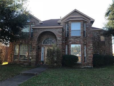 Rowlett Single Family Home For Sale: 7005 Tremont Lane