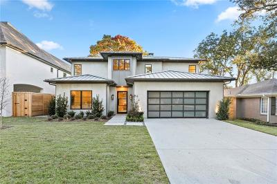 Dallas Single Family Home For Sale: 6728 Woodland Drive