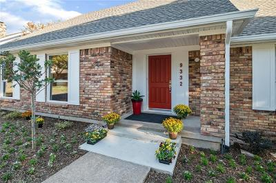 Dallas, Fort Worth Single Family Home For Sale: 9332 Mercer Drive
