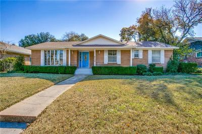 Dallas Single Family Home For Sale: 6134 N Jim Miller Road