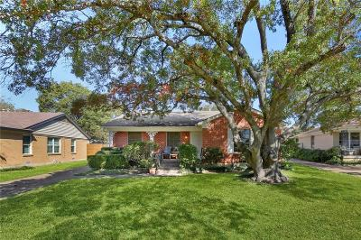 Single Family Home For Sale: 1821 Swan Drive