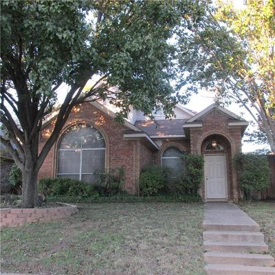 Single Family Home For Sale: 4410 Laredo Drive