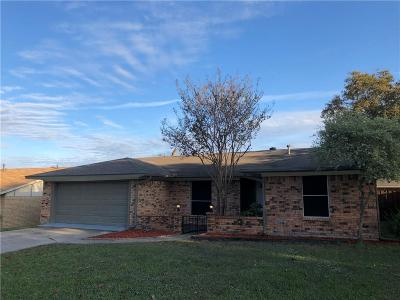 Mesquite Single Family Home For Sale: 206 Mockingbird Trail