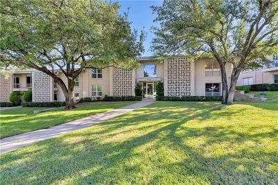 Dallas, Fort Worth, Highland Park Condo For Sale: 2303 Ridgmar Plaza #24