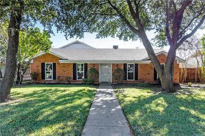 Richardson Single Family Home For Sale: 2804 Canyon Valley Drive