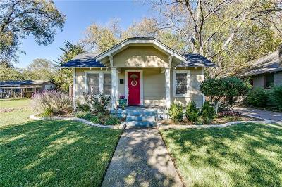 Fort Worth Single Family Home For Sale: 3824 Calmont Avenue