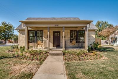 Grapevine Single Family Home For Sale: 528 S Dooley Street