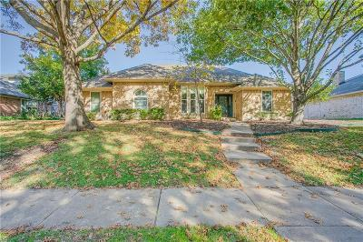 Plano Single Family Home Active Option Contract: 5004 Crooked Lane