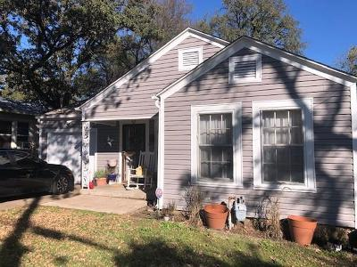 Fort Worth Single Family Home For Sale: 4517 Normandy Road